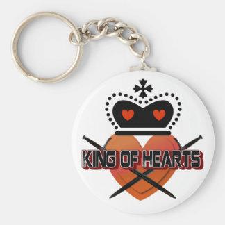 King of Hearts Keychain