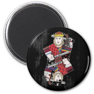 King Of Hearts Pirate Too Refrigerator Magnet