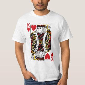 King Of Hearts Playing Card T-Shirt