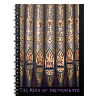 King of instruments notepad spiral notebooks