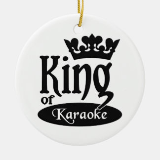 King of Karaoke ornament