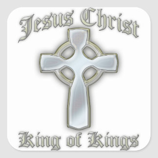King of Kings2 Square Sticker