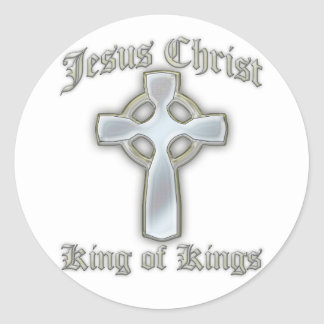 King of Kings2 Round Stickers