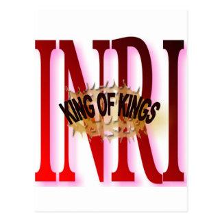 KING OF KINGS POSTCARD