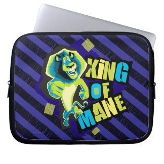 King of Mane Laptop Sleeve