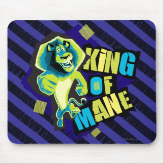 King of Mane Mouse Pad