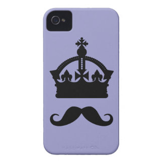 King of Mustaches custom color Blackberry case