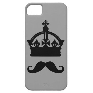 King of Mustaches custom color phone cases