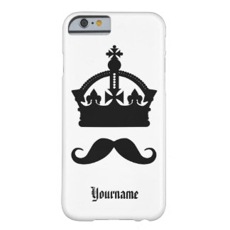 King of Mustaches custom monogram & color cases