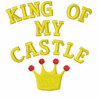 King Of My Castle Embroidered Shirt