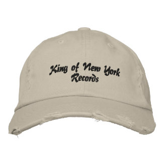 King of New York Records hat (ten indians)