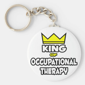 King of Occupational Therapy Keychain