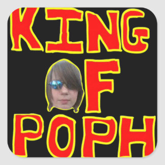 King of POPH Sticker