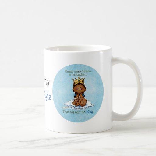 King of Prince African American Big Brother mug