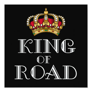 King of road card