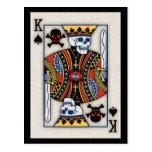 King of Skulls Postcards