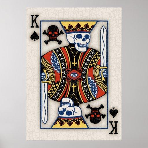 King of Skulls Poster