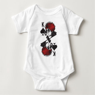 King of Spades Baby Bodysuit