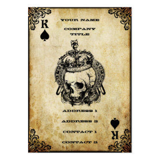 King of Spades - Business Card