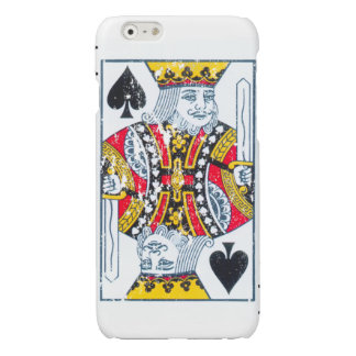 King of Spades distressed Case iPhone 6 Plus Case