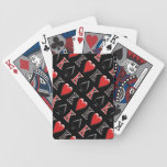 King of Spades, King of Hearts Bicycle® Poker Play Playing Cards