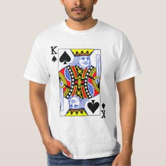 King of Spades Playing Card T-Shirt