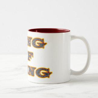King of sting Two-Tone mug