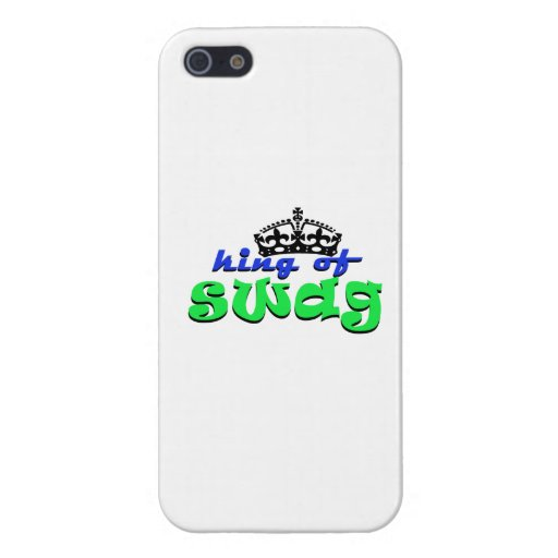 king of swagg iPhone 5 covers