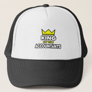 King of the Accountants Trucker Hat