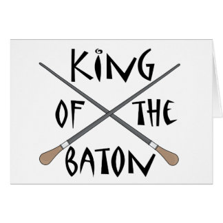 King of the Baton Conductor Gift Card