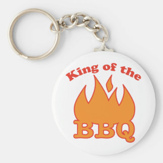 King Of The BBQ Keychains