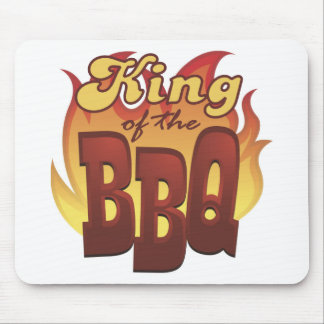 King Of The BBQ Mousepad