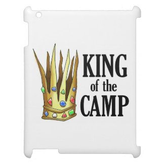 King of the Camp Tablet Case iPad Case