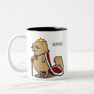 King of the capybara. Mug