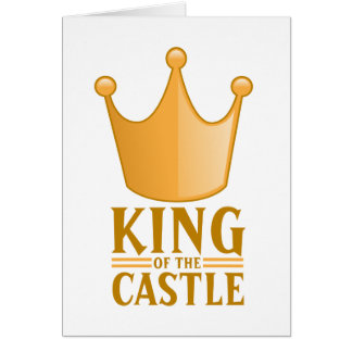 King of the castle card
