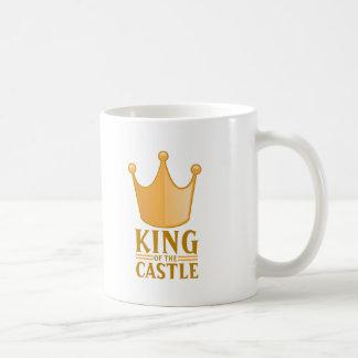 King of the castle coffee mug