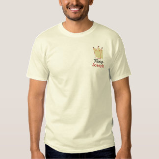 King of the Castle Embroidered T-Shirt
