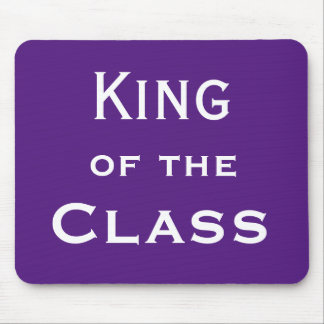 King of the Class Special Male Teacher Joke Name Mouse Mat