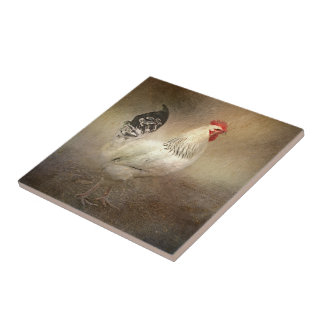 King of The Coop Small Square Tile