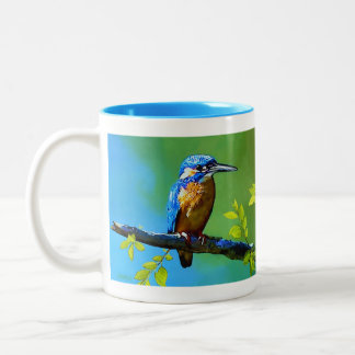 King of the Fishers Two-Tone Coffee Mug