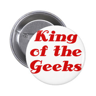 King of the Geeks 6 Cm Round Badge