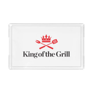 King of the Grill Acrylic Tray