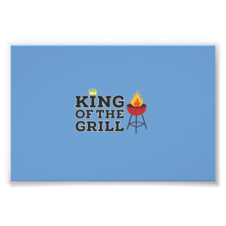 King of the grill art photo