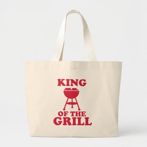 King of the grill - BBQ Canvas Bag