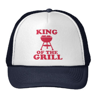 King of the grill - BBQ Trucker Hat