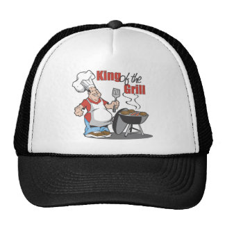 King Of The Grill BBQ Gift Trucker Hats