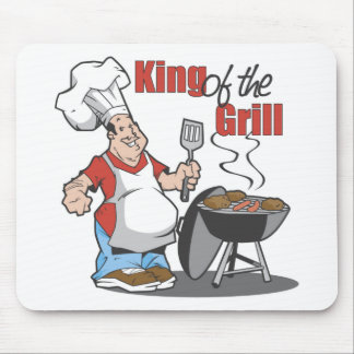 King Of The Grill BBQ Gift Mousepad