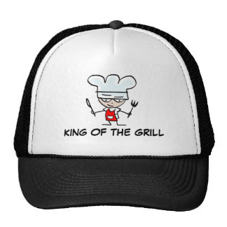King of the grill BBQ hat