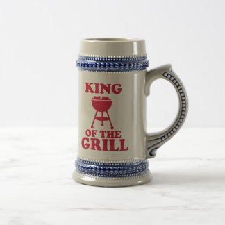King of the grill - BBQ Coffee Mugs