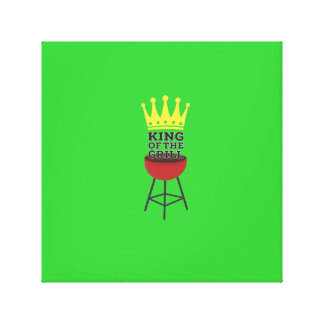 King of the grill gallery wrap canvas